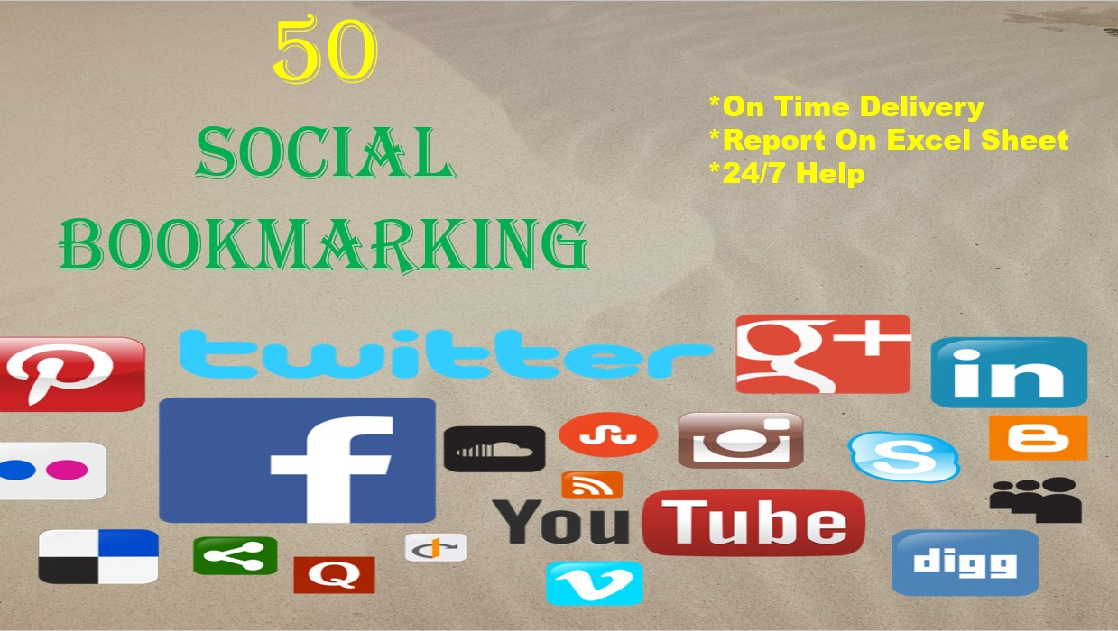 I Will Do 160 Social Bookmarking For Your Website