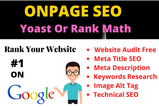 I will do wordpress onpage SEO optimization solve technical issue