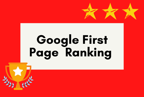 I will provide you the best service on google 1st page ranking.