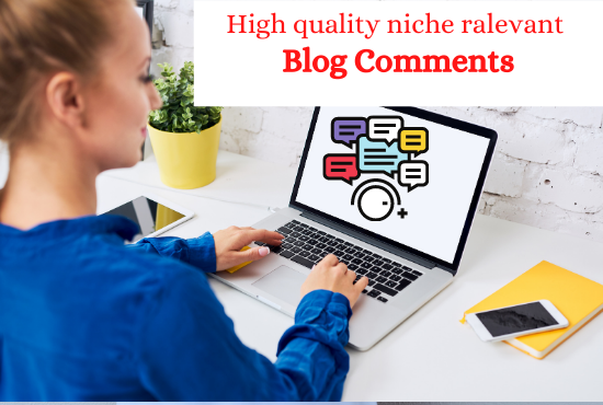 I Will Create 50 Niche Relevant Blog Comments Quality Backlinks