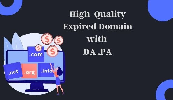 I will provide niche relevant expired domain with high da / pa
