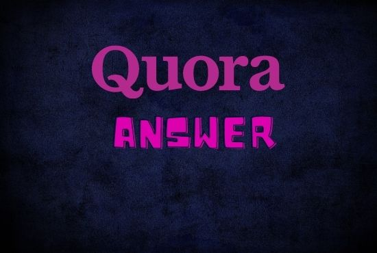 6 high quality quora answer with your website URL