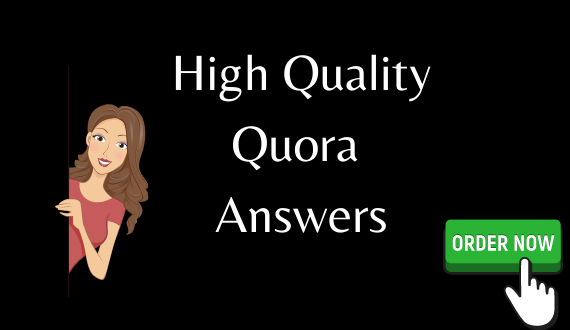 I will create 3 high quality quora answer