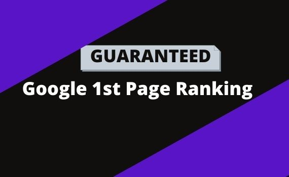 Offering you Google first page Ranking
