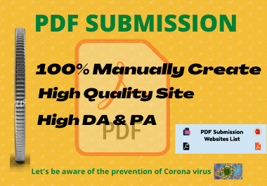 I will create the top 20 high-quality PDF submissions