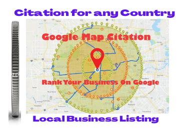 1000 Google map citations for local seo local citations promote your business or website