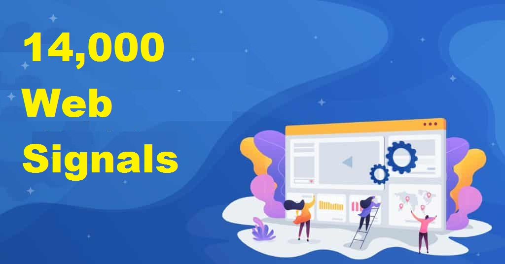 14,000 Web signals to rank up your web