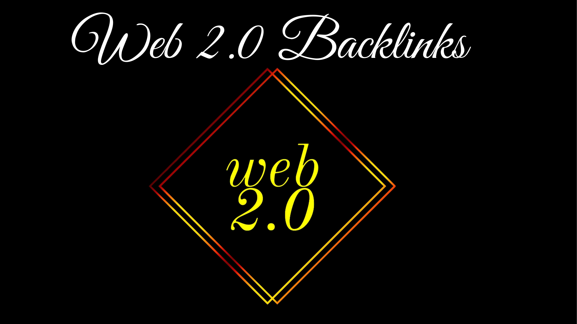 I will build Dofollow high quality 20 permanent super web 2.0 backlinks