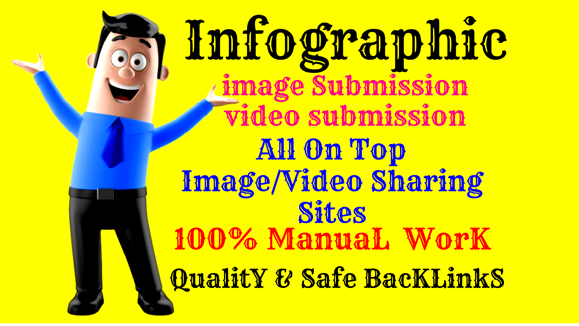 INFOGRAPHIC 20 DA/PA sites for the Promotion of your Brand or Business