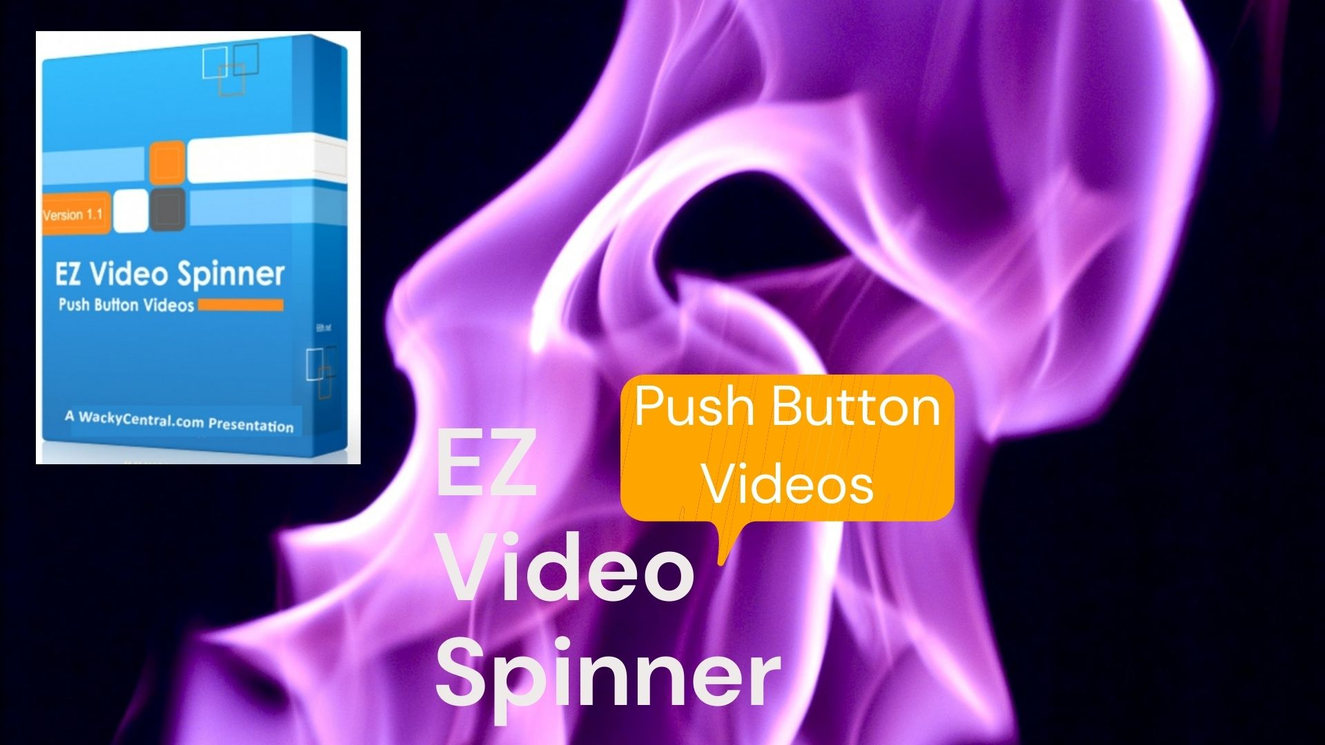 EZ Video Spinner Push Button Videos with Fifteen mp3 audio