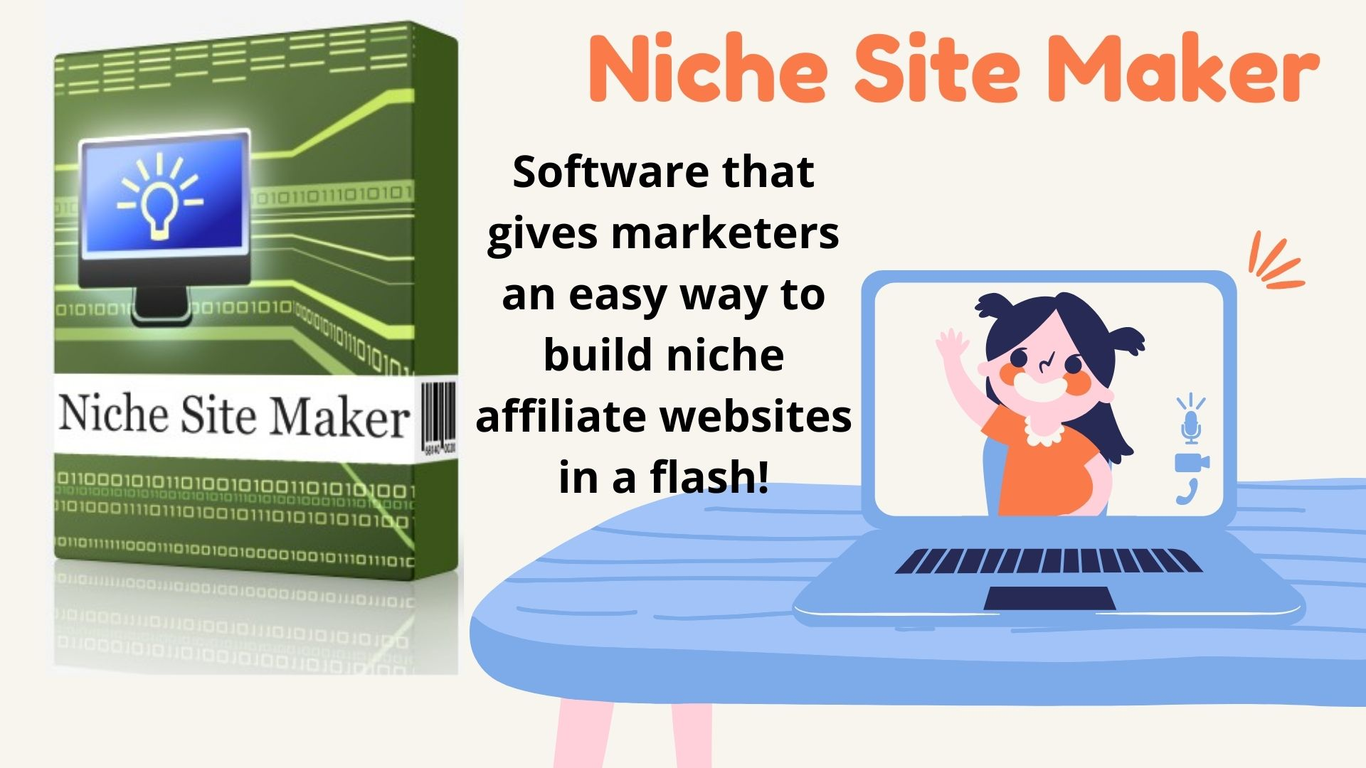 Niche Site Maker Software that gives marketers and easy way to build niche