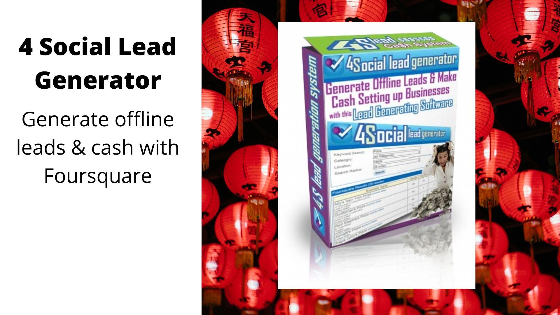 Social Lead Generator Generate Offlice leads & cash