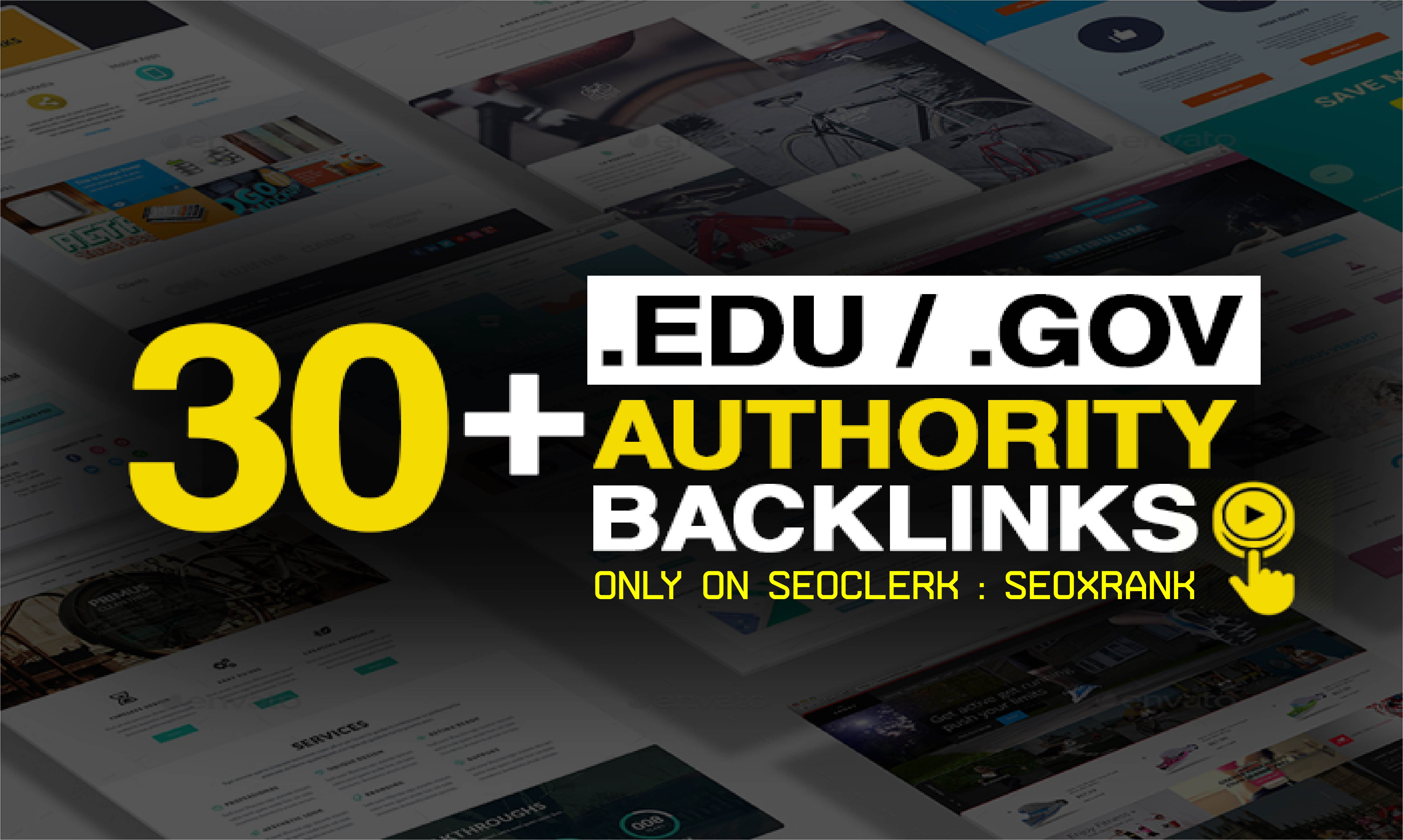 Creat 30+ EDU-GOV Safe SEO Backlinks Authority Site to Boost Your Google Ranking