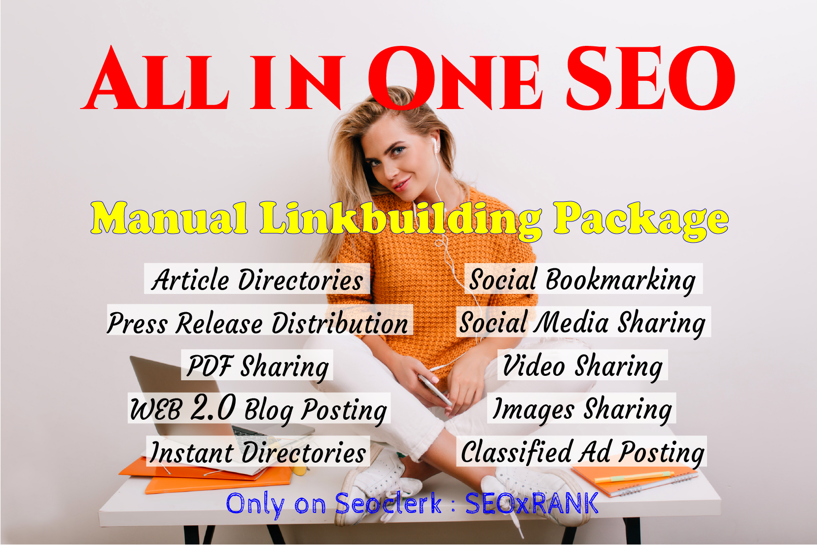 All In One Manual SEO Link Building Service 2021