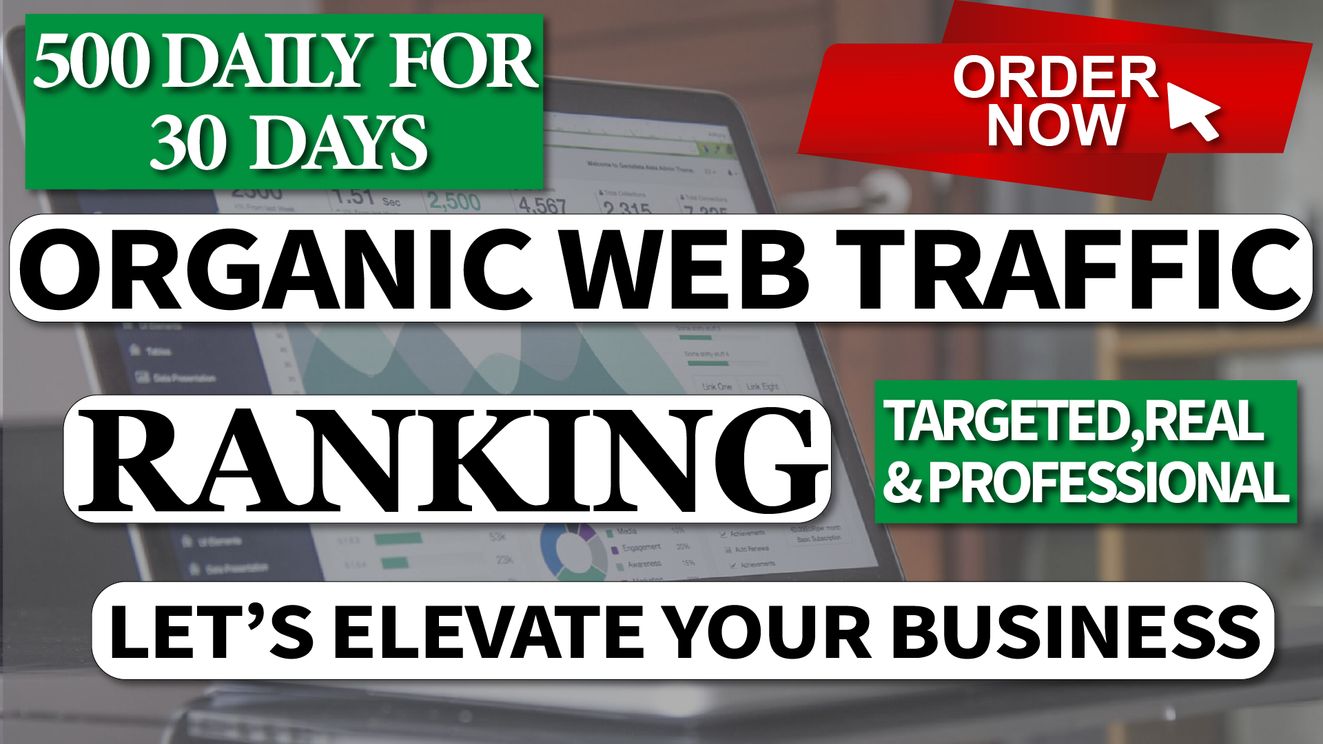 15000 Real Human Traffic & Social Visitors to website and blog