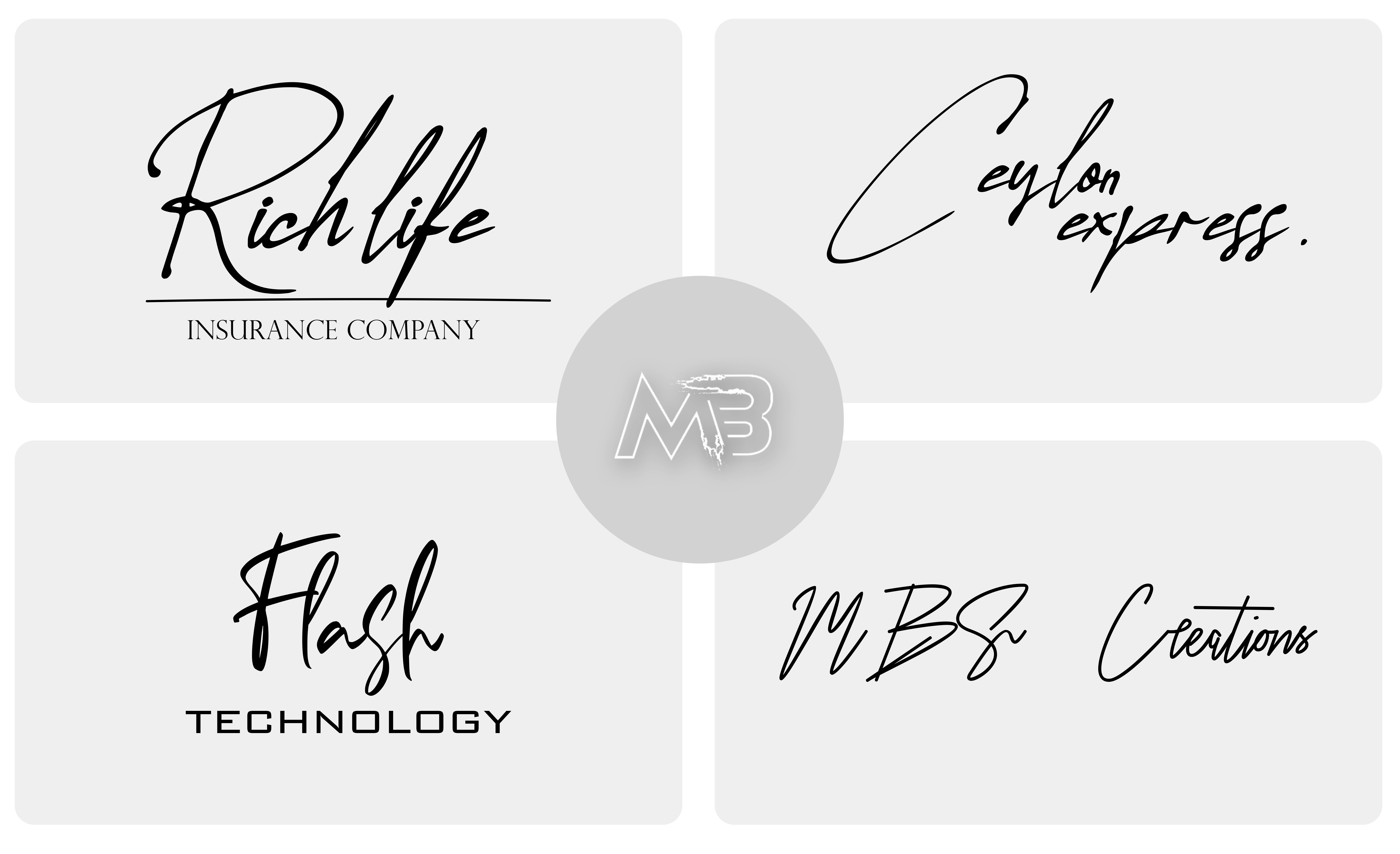 I will design handwriting , cursive , signature , handwritten logo