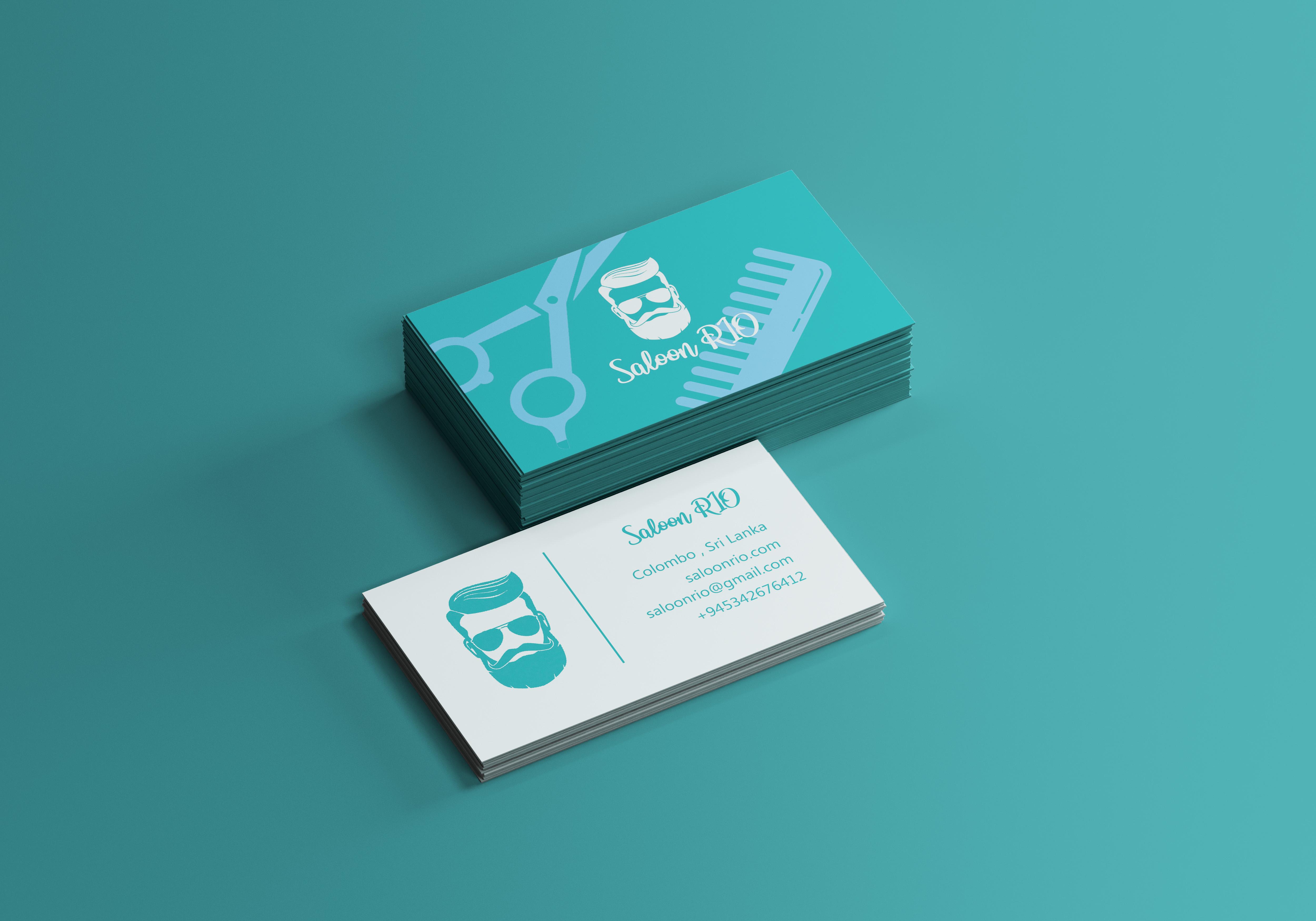 Unique Modern Business Card Design