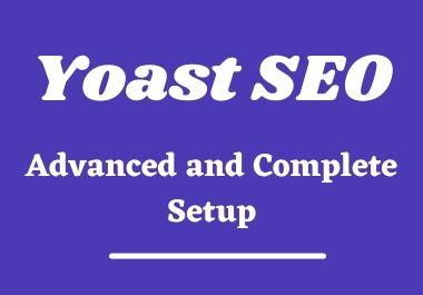 Yoast SEO Plugin Advanced Setup and Optimization for Index on Google