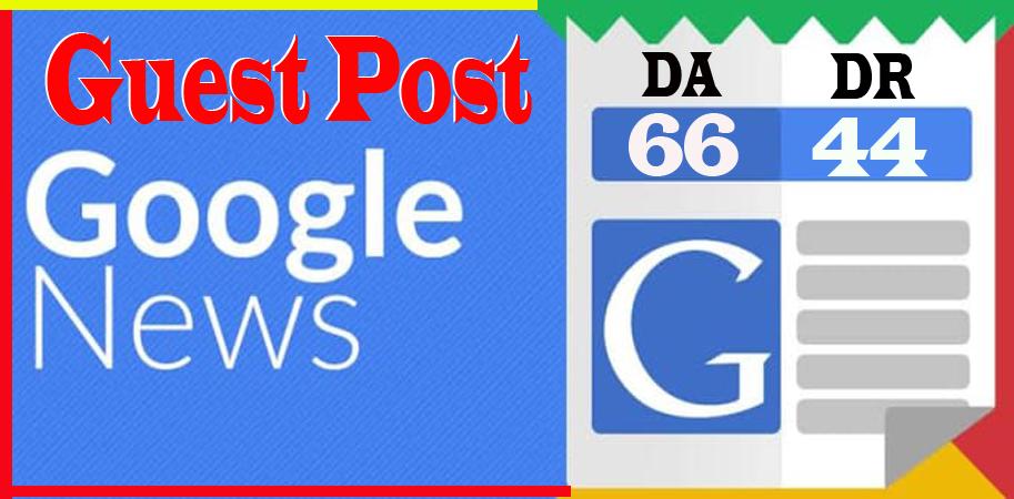 I will publish dofollow guest post inpulseglobal. com on da 66 google news site