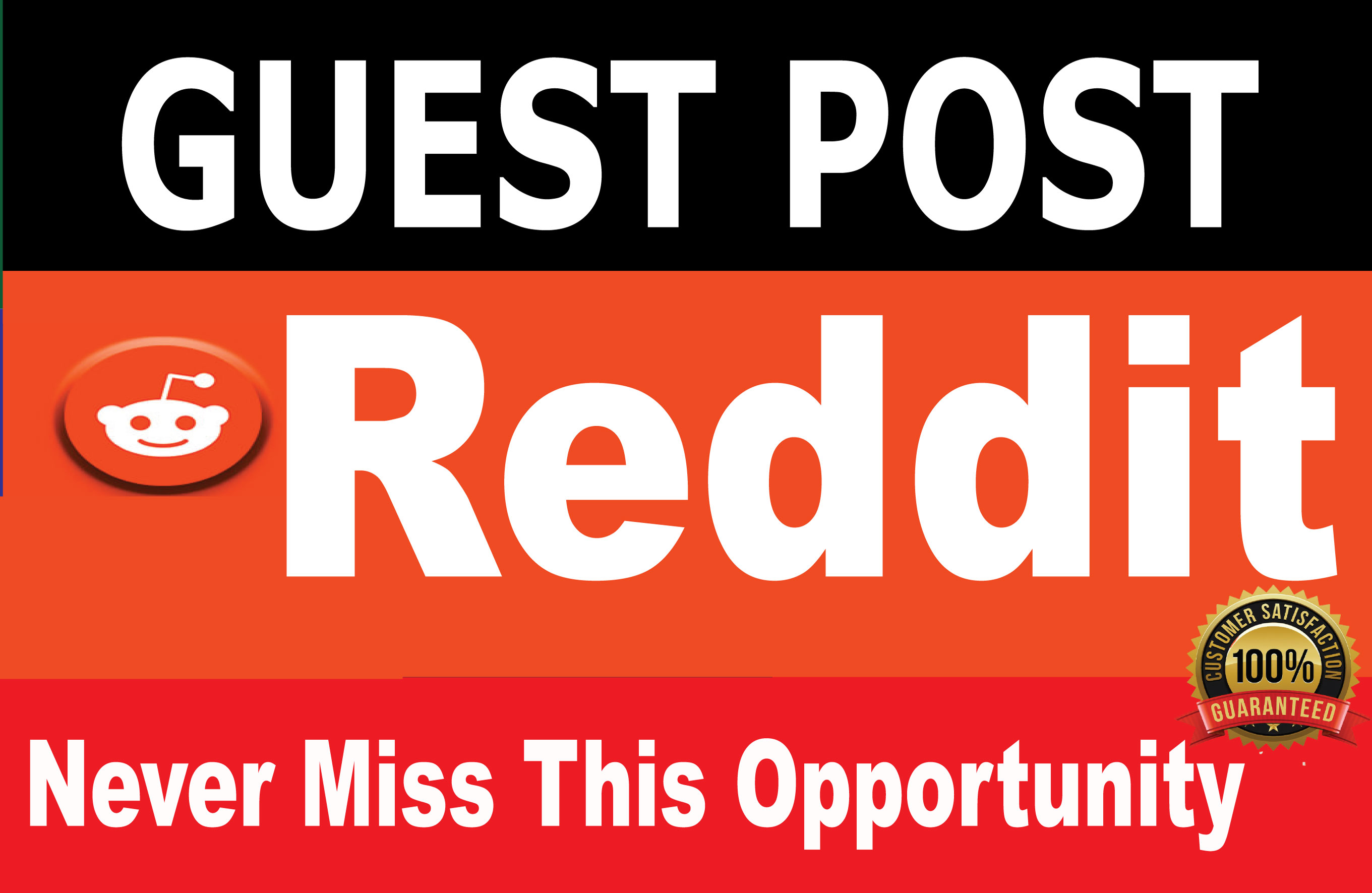 Write and Publish A Guest Post On Reddit,  DA 90 & PA 89