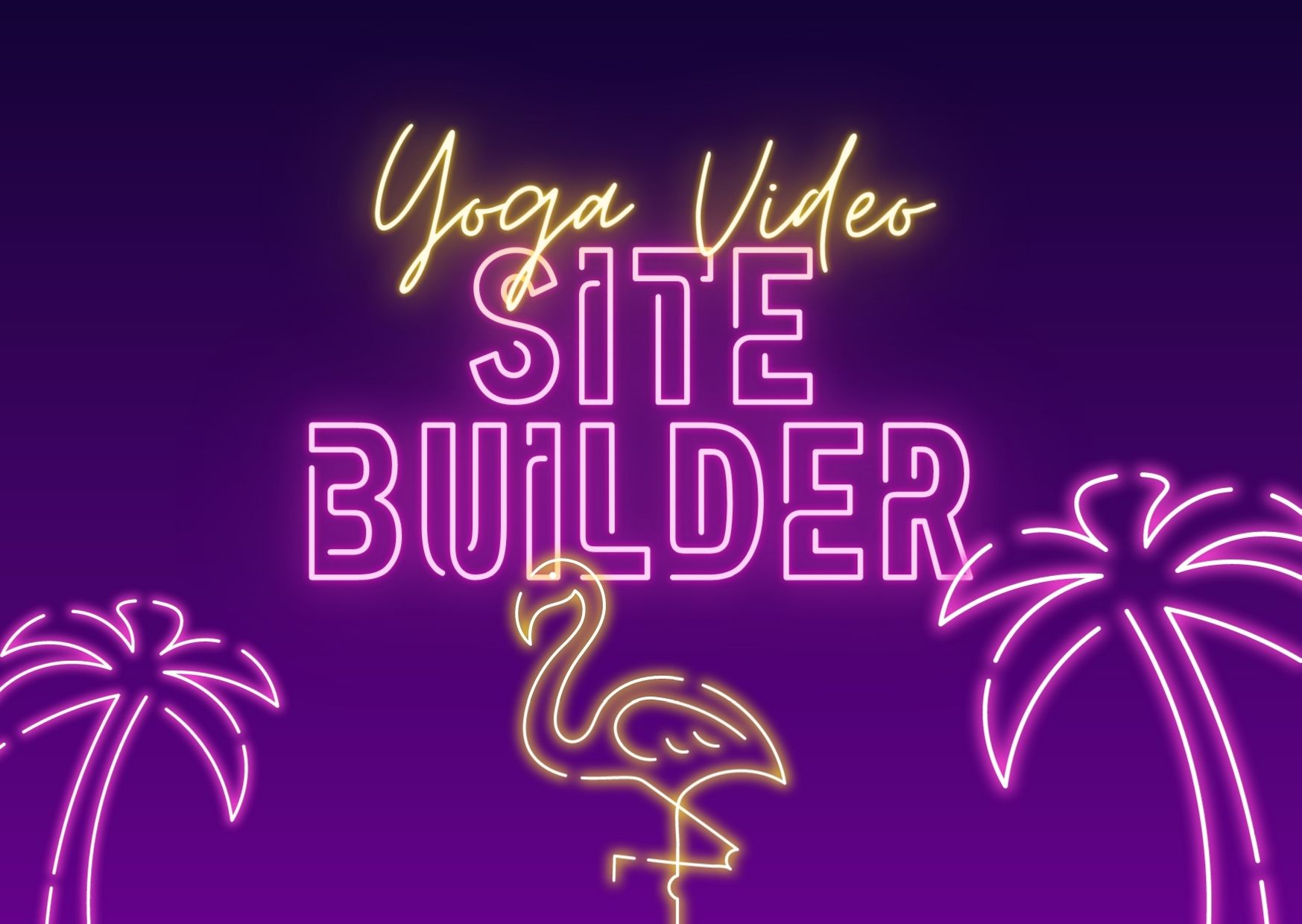 Yoga Video Site Builder to make your own money making yoga videos site