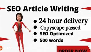 I will write 500-700 unique and effective article/content