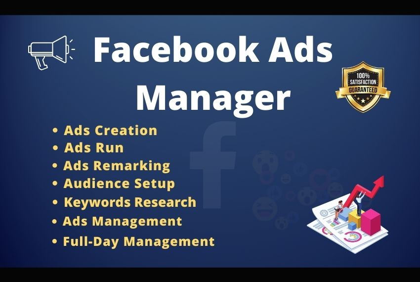 I will will be your Facebook ads manager