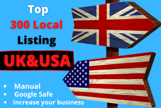 I will provide live local listings for your business