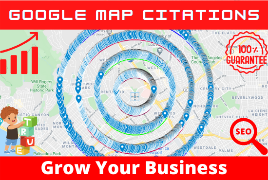 I will do map citation for local SEO and google my business