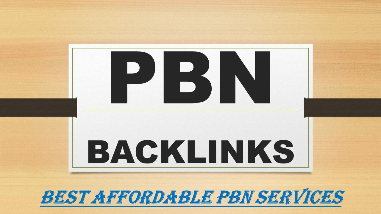 Most powerful 2021 Google Update 20 PBN Backlinks