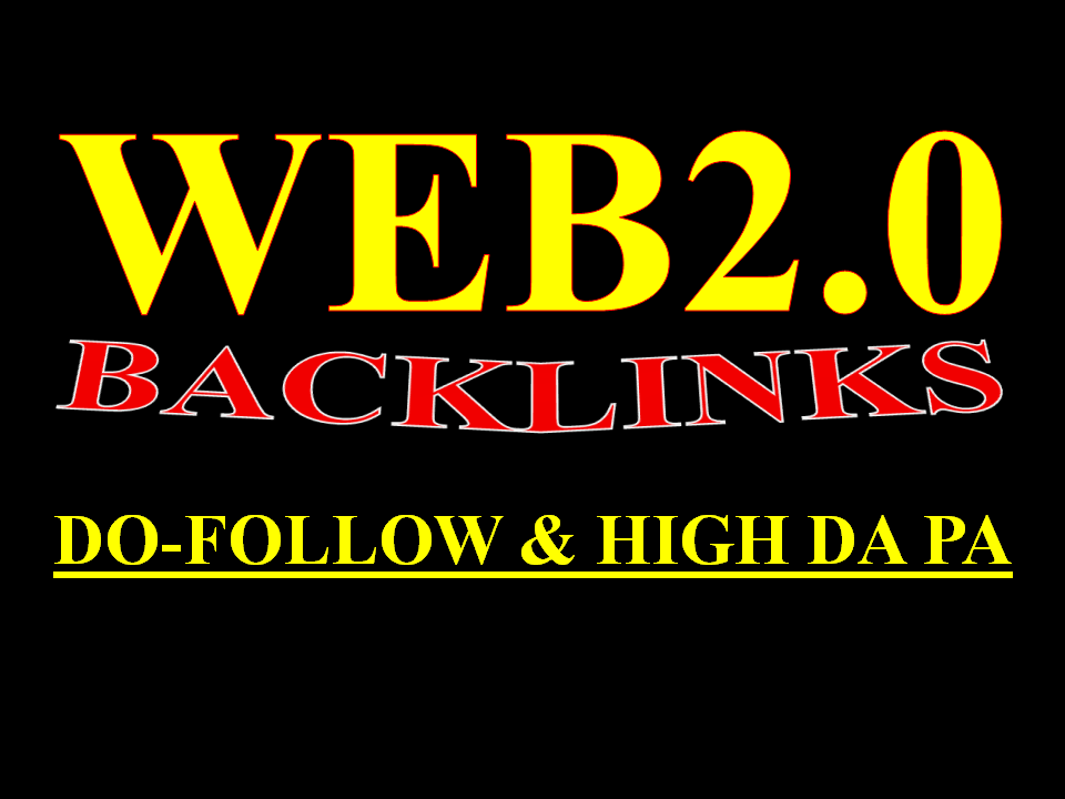 I will create 10 manual authority web 2.0 backlinks