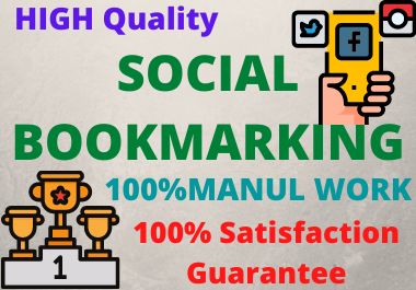 I Will Create 30 social bookmarking backlinks for your website