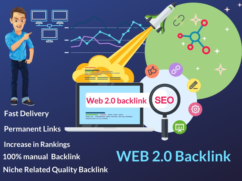 I Provide Manually HQ 100 Web2.0 Blogs Permanent Backlinks
