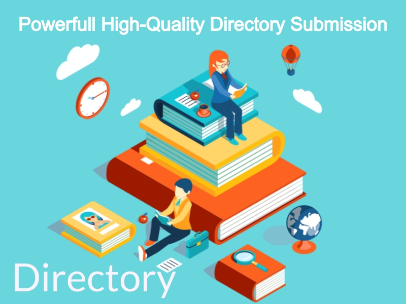 Powerful 200 High Quality Directory Submission Manually