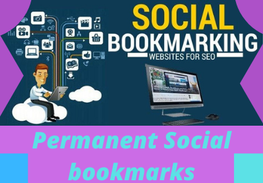 20 Social Bookmarks high Authority website permanent dofollow high da backlinks