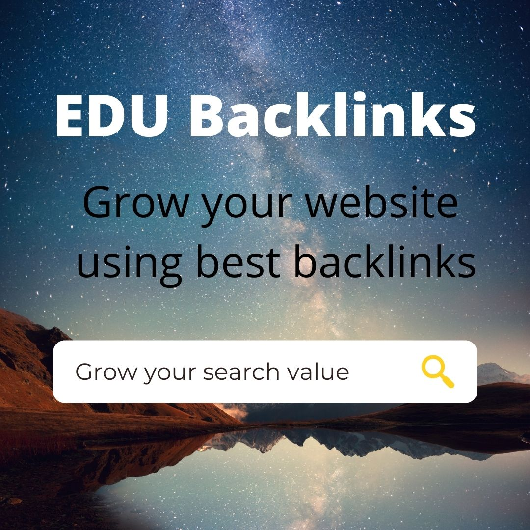 Create 100 EDU backlinks For Boost Your Website ranking