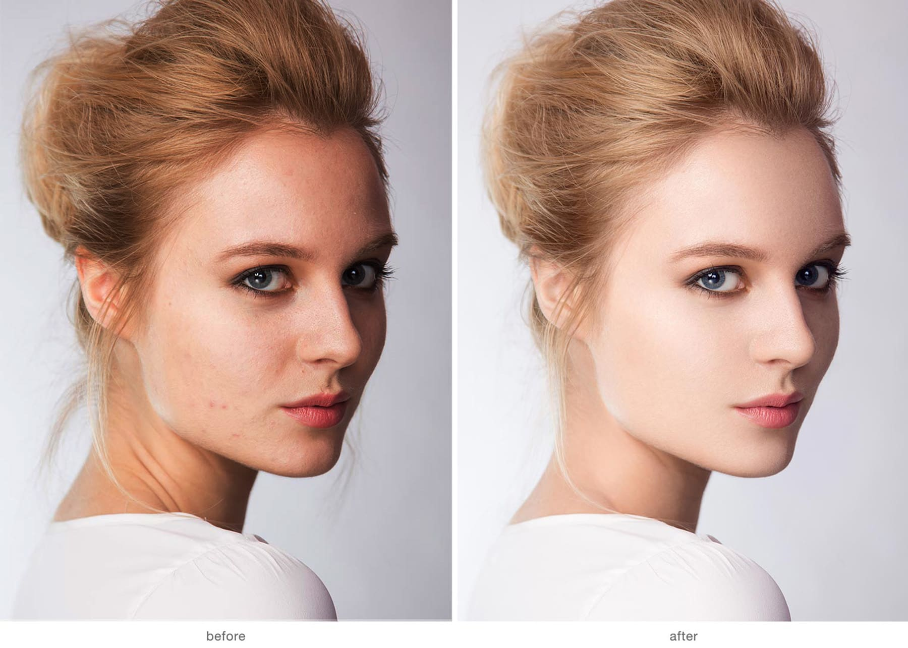 I will do skin retouch,  photo editing,  photo enhancement