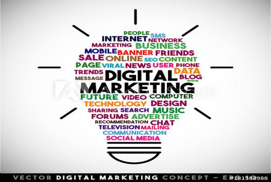 digital social media marketing expert and linkedin marketing