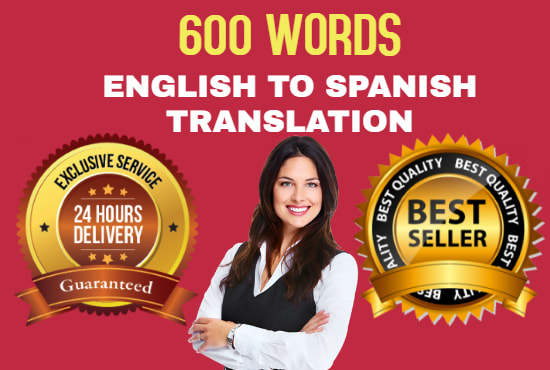 I will translate english to spanish 1000 words for 2