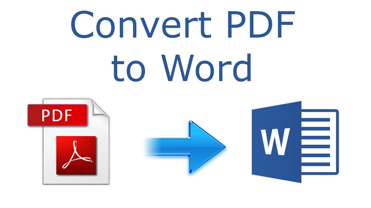 I will convert PDF documents to word
