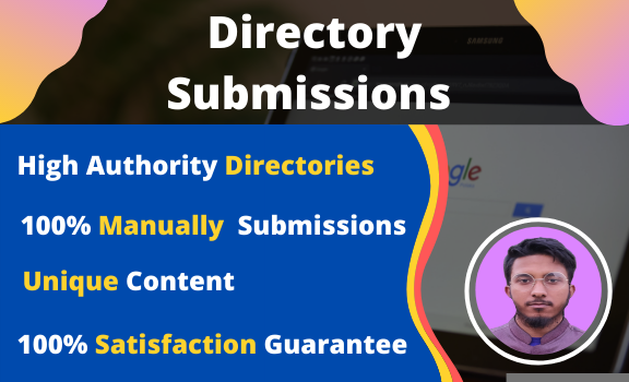 I will do manual 70 directory submission for website