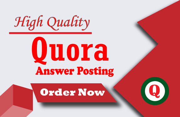 I Will Promote your High Quality 10 Quora Answer backlinks for your website