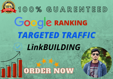 I will provide high authority SEO link building service for website ranking