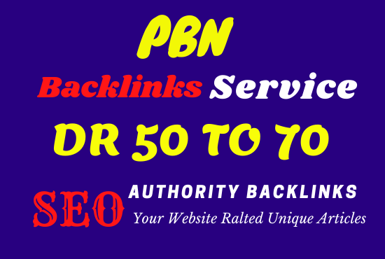 I will do 30 high quality contextual SEO dofollow backlinks service