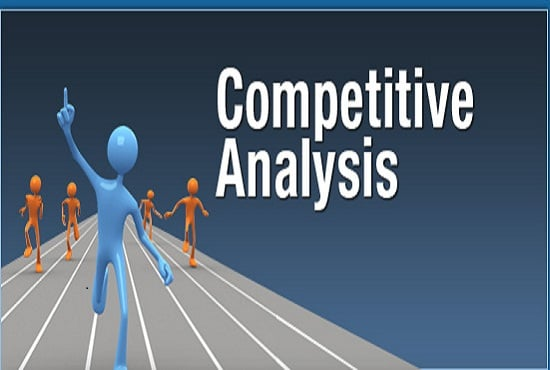 I will do website analysis with major 3 competitor website analysis