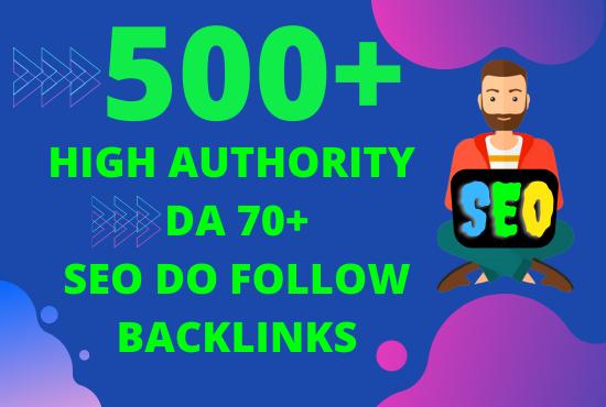 I will provide web 2 0 high authority seo do follow backlinks