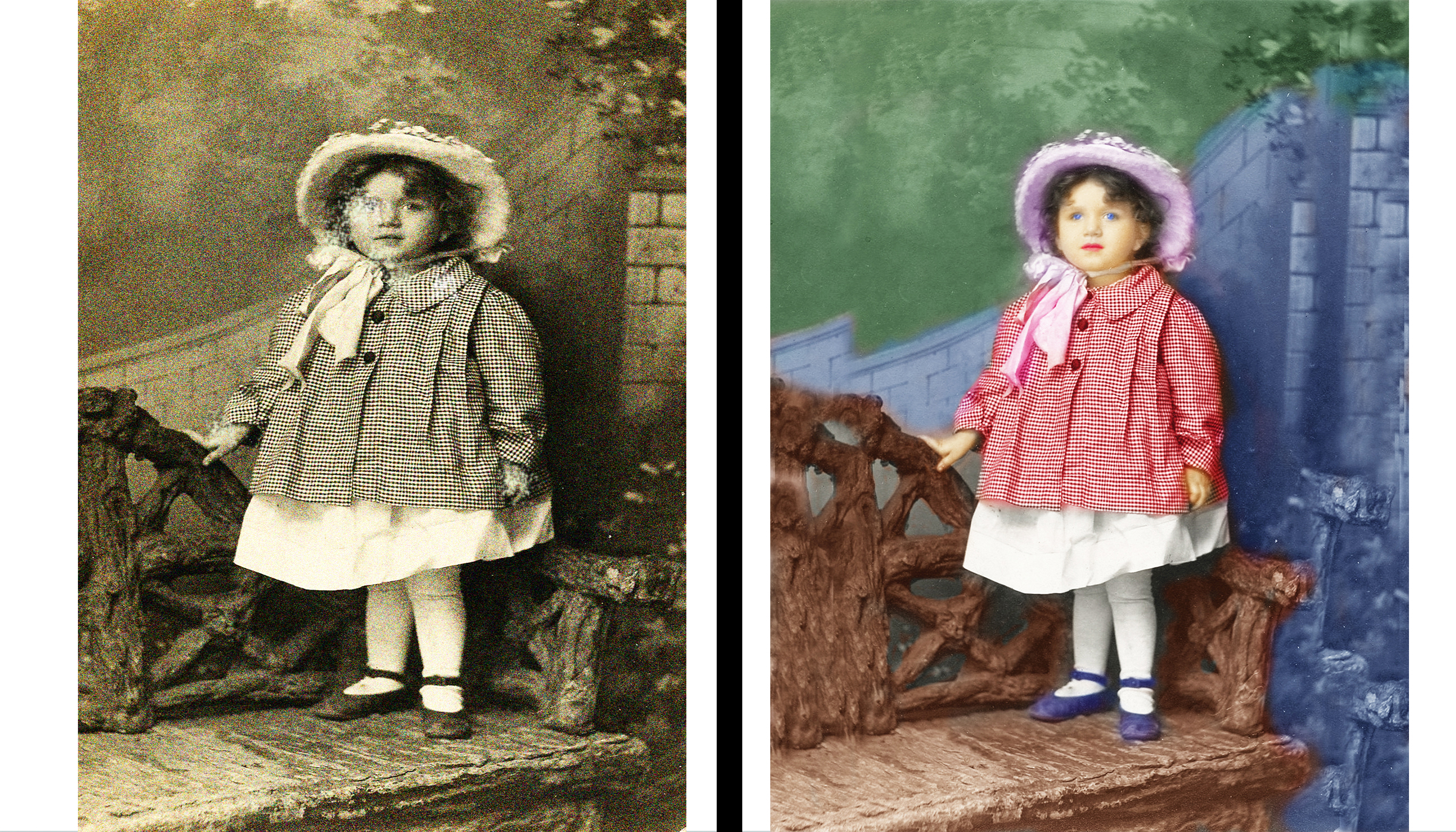 I can restore and retouch your old photo