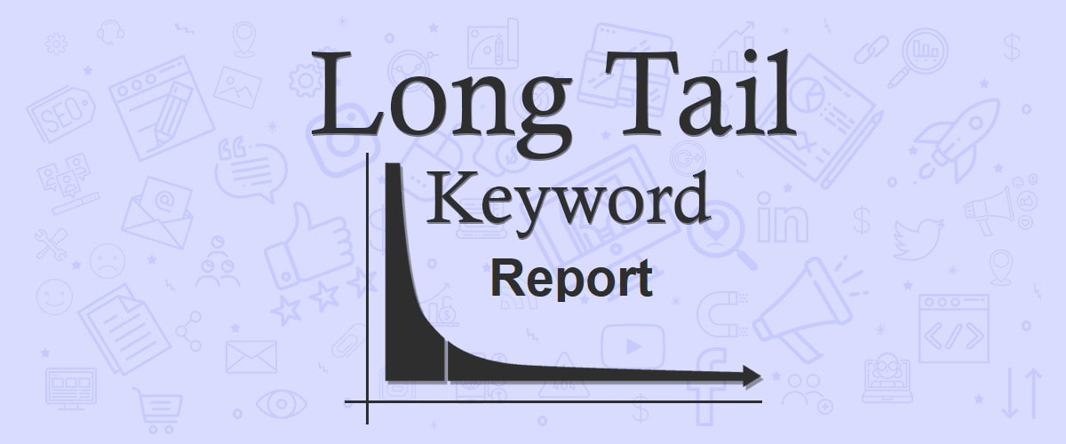 I will provide long tail keyword reports of any 10 websites