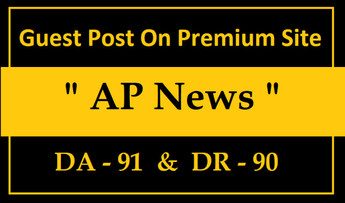 guest post on ap news press release