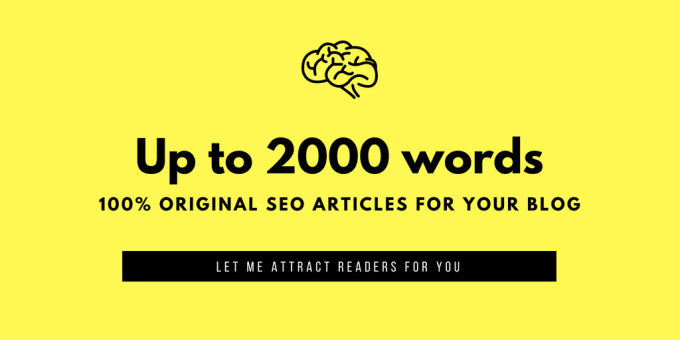 I will write 2 x 1000 words Write amazing article writing SEO friendly and contents writing